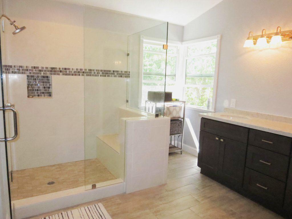 Laguna bathroom remodel