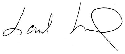 Landon signature