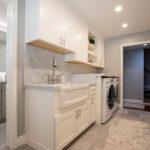 bathroom remodel - laundry room