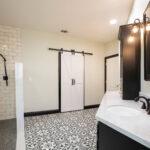 bathroom remodel barn door