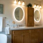 Bathroom remodel - bath tub and vanity