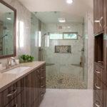 bathroom remodel - vanity and shower